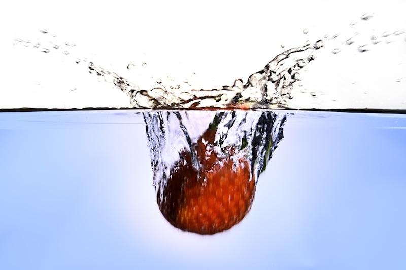 Food in water