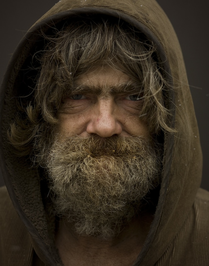 Bearded man from Ukraine